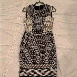 Geometric portfolio dress